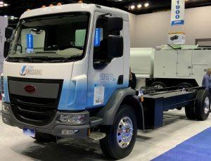 Peterbilt electric truck